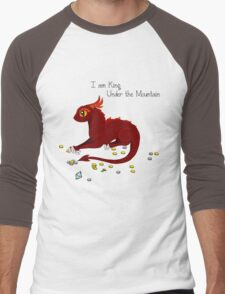 I am King Under The Mountain Men's Baseball ¾ T-Shirt