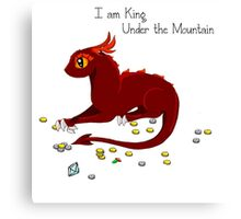 I am King Under The Mountain Canvas Print