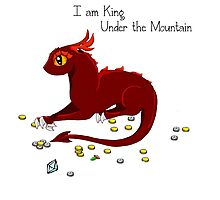 I am King Under The Mountain Photographic Print