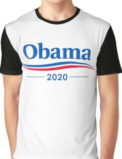 Obama 2020 Graphic T-Shirt