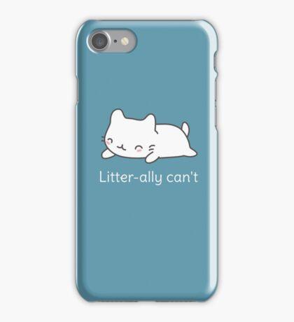 Funny Cat Pun  iPhone Case/Skin