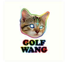 odd future cat  Art Print