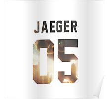 Jaeger Jersey #05 Poster