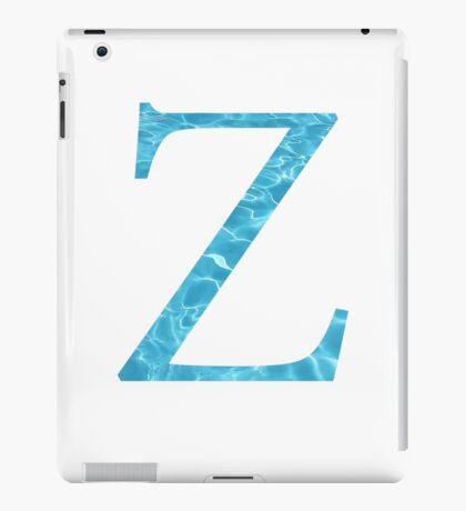 Zeta-water iPad Case/Skin
