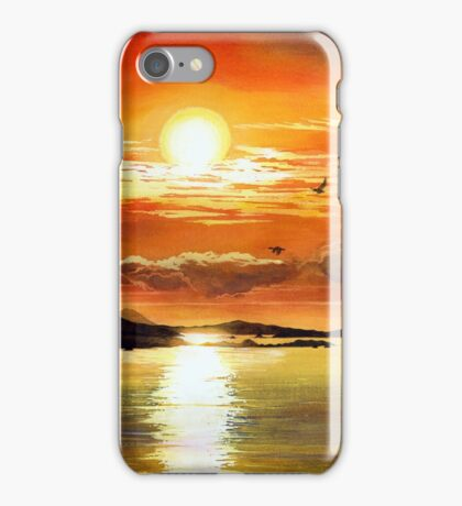 Sunset Lake iPhone Case/Skin