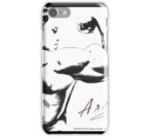 Arnold Schwarzenegger - Rear Bicep Shot iPhone Case/Skin