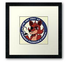 Five Nights at Freddy's - I've Met Foxy Framed Print