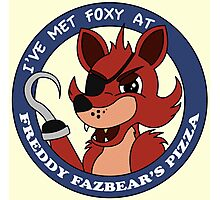 Five Nights at Freddy's - I've Met Foxy Photographic Print