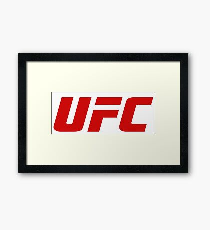Ultimate Fighting Championship - UFC tour 2016 nm2 Framed Print