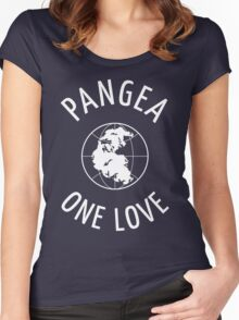 Pangea: One Love Women's Fitted Scoop T-Shirt