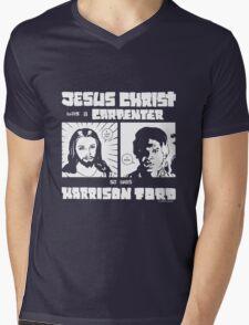 JESUS FORD Mens V-Neck T-Shirt