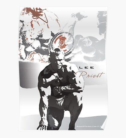 Bodybuilding Legend - Lee Priest Poster