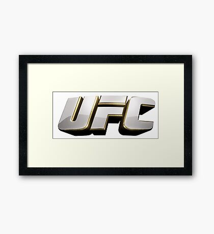 Ultimate Fighting Championship - UFC tour 2016 nm5 Framed Print