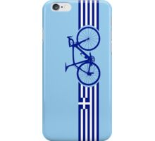 Bike Stripes Greece iPhone Case/Skin
