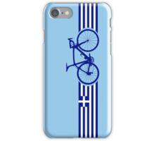 Bike Stripes Greece iPhone Case/Skin