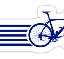 Bike Stripes Greece Sticker