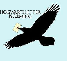Hogwarts letter is coming  by galatria