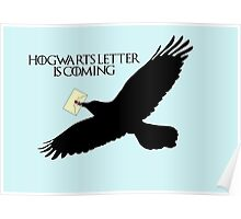 Hogwarts letter is coming  Poster