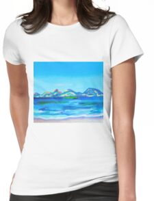 Coles Bay  Womens Fitted T-Shirt