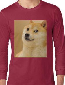 Doge meme 2 Long Sleeve T-Shirt