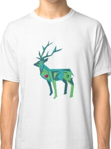 Abstract vector stag Classic T-Shirt