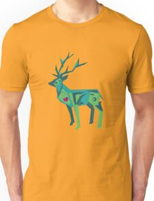 Abstract vector stag Unisex T-Shirt