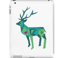 Abstract vector stag iPad Case/Skin