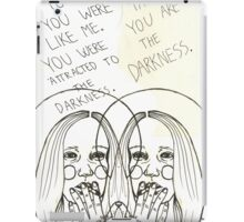 Violet, american horror story iPad Case/Skin