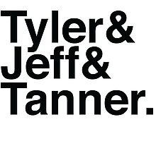 Tyler & Jeff & Tanner Photographic Print