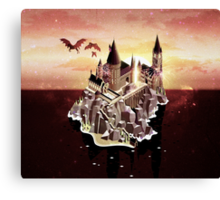 Hogwarts series (year 5: the Order of the Phoenix) Canvas Print