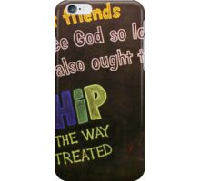 Love One Another iPhone Case/Skin
