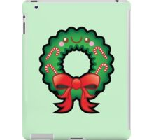 Cute Kawaii Christmas Wreath iPad Case/Skin