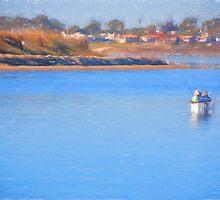 Fishing Buddies by randymir
