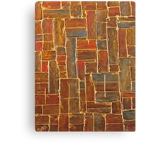 Brown and Gold Canvas Print