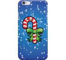 Cute Kawaii Christmas Candy Cane iPhone Case/Skin