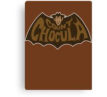 Beware Count Chocula Canvas Print