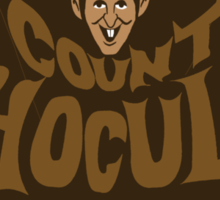 Beware Count Chocula Sticker