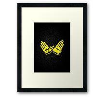 Wu Represent Framed Print