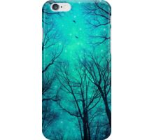 A Certain Darkness Is Needed II (Night Trees Silhouette) iPhone Case/Skin