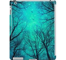 A Certain Darkness Is Needed II (Night Trees Silhouette) iPad Case/Skin