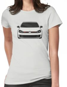 MK6 GTI Front Womens Fitted T-Shirt