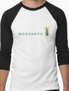 NONSANTO Men's Baseball ¾ T-Shirt