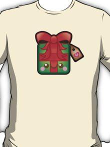 Cute Kawaii Christmas Present T-Shirt