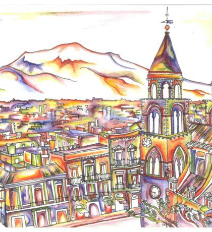 Sicily in Colour  Sticker