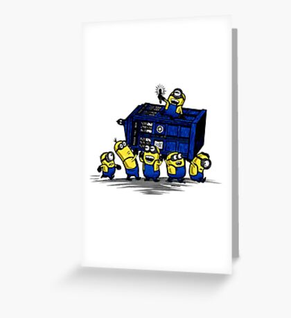 Time Steal - Doctor Who Mashup Greeting Card