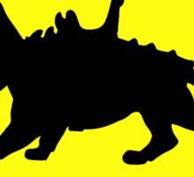 Battlecat Crossing Road Sign Sticker