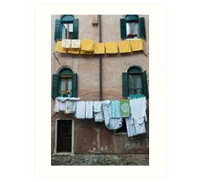 Hanging Out to Dry 2 Art Print
