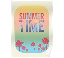 Summer time theme Poster