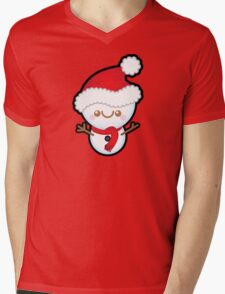 Cute Kawaii Christmas Snowman T-Shirt