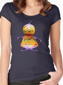 Mr Pumkin Women's Fitted Scoop T-Shirt